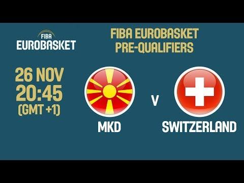 MKD v Switzerland - Full Game - FIBA EuroBasket 2021 Pre-Qualifiers