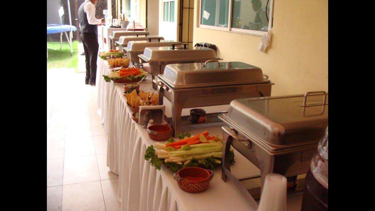 Taquizas para eventos tipo buffete a domicilio  Tacos