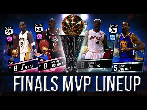 FINALS MVP LINEUP!!! DIAMOND KEVIN DURANT GOES CRAZY FROM 3! DIAMOND LEBRON DUNKS ON PD EWING!