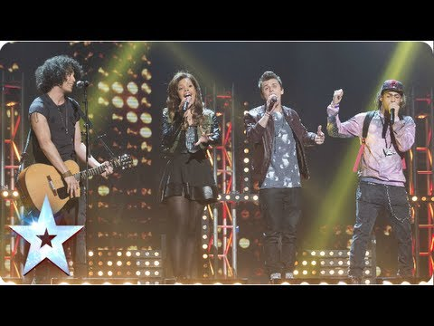 Luminites sing Bee Gees' 'To Love Somebody' with a twist   Semi-Final 3   Britain's Got Talent 2013