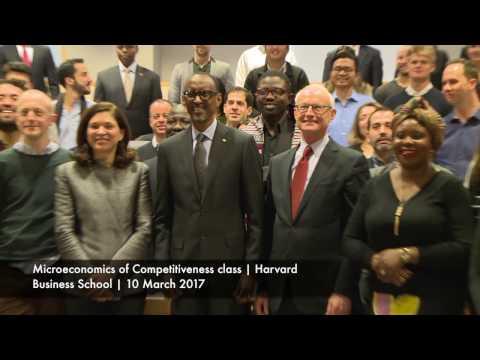 President Kagame at Harvard Kennedy School Center for International Development