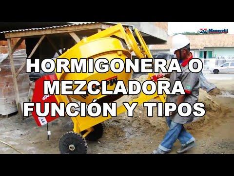 Hormigonera o Mezcladora Función y Tipos thumbnail