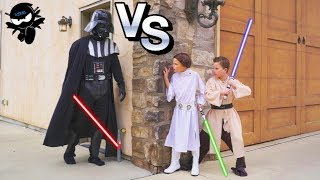 Twin Jedi Star Wars Birthday Party! Ninja Kidz Tv