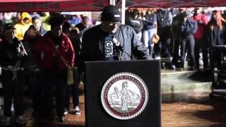 Love for WSSU - Vigil for Anthony White