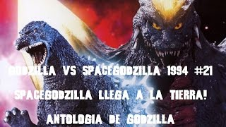 Godzilla Vs SpaceGodzilla 1994 #21 SpaceGodzilla Llega A La Tierra! Resumen Reseña Antologia