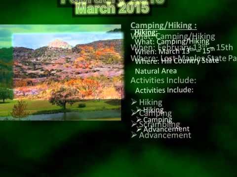 Portland, Texas Troop 20 Calendar of Events