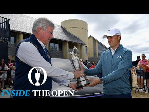 INSIDE THE OPEN  - Behind the scenes at Carnoustie on Monday