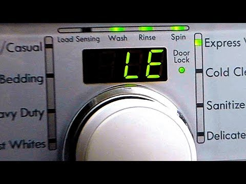 Fixing KENMORE Washer LE Error - replacing Motor Rotor Position Sensor (applies to LG as well) DIY