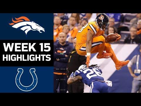 Broncos vs. Colts | NFL Week 15 Game Highlights
