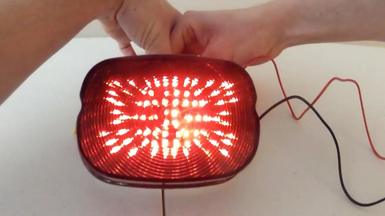 Harley Davidson Ebay LED Taillight How-To on