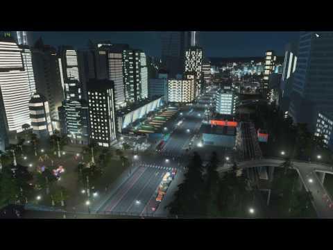 Cities Skylines Busy Transport Hub