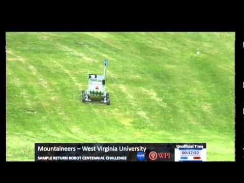 WVU Mountaineers NASA MFSC Sample Return Robot Challenge - Day 1, 2014