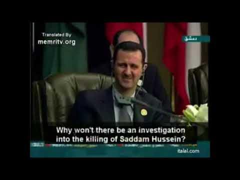 Смотреть Пророческие слова Муаммара Каддафи на саммите Лиги арабских государств в Сирии (2008г.). онлайн