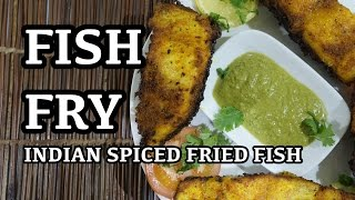 Fish Fry Recipe Video - Indian spicy fried