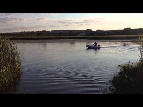 Обкатка лодочного мотора Парус (Sail) F5S