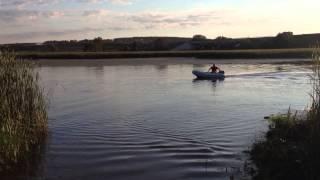 видео Лодочный мотор Парус 5 л.с.