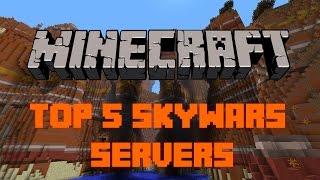 Top 5 Minecraft Skywars Servers   Minecraft 1.8