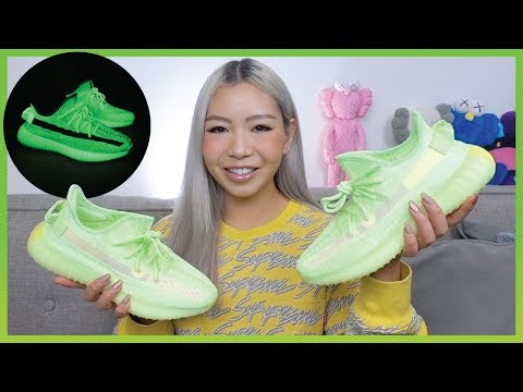 YEEZY BOOST 350 V2 GLOW | Review + How To Make Them Glow