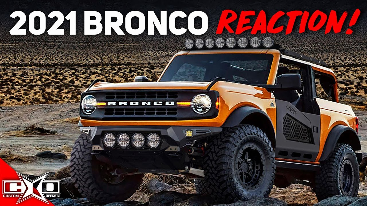 Reacting To The 2021 Ford Bronco Reveal!