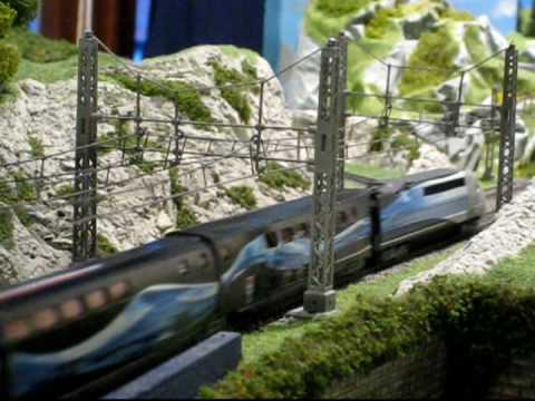 Model Railway Train Track Plans-Tremendous Ideas For Mustering The Best From V150 N Scale