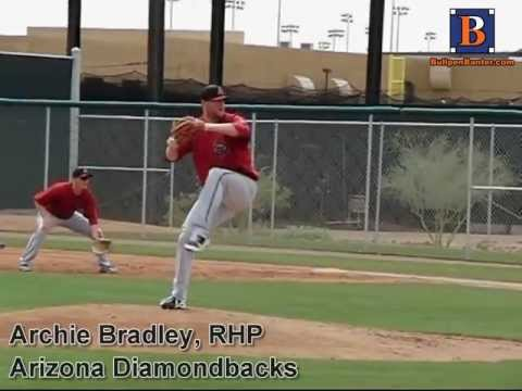 ARCHIE BRADLEY, RHP, ARIZONA DIAMONDBACKS, PITCHING MECHANICS AT 200 FPS