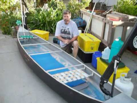 how to pack a canoe for camping
