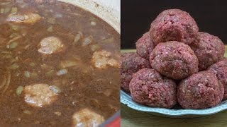 How to make Meatball Stew (Authentic Cajun Recipe)