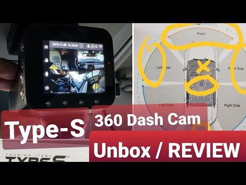 Costco! TYPE S - 360 Dash Cam! REVIEW !