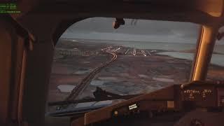 Aterrizaje visual en Gran Canaria - MD80 ROTATE - X-plane11