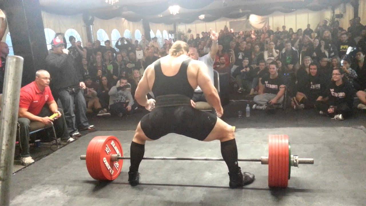 Dan Green Opens On 345kg GPC Nats