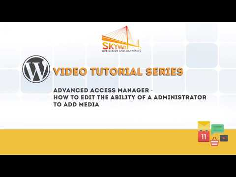 Advanced Access Manager   How to edit the ability of a administrator to add media