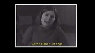 CARRIE FISHER | Audición original para la Princesa Leia en Star Wars