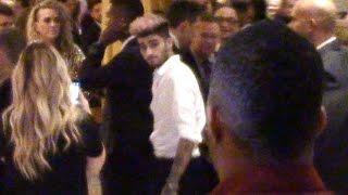 Zayn Malik Attends Same Grammys Party As Harry Styles, Sans GF Gigi Hadid