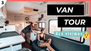 VAN TOUR | El motorhome MÁS COMODO para viajar por el mundo | RV TOYOTA winnebago warrior 91´
