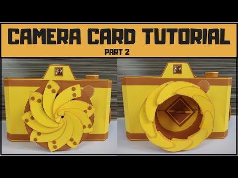 Unique Instax Camera Card Tutorial Part 2 | Handmade gift ideas for boyfriend /best friend