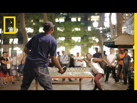 United by Ping Pong, These Players Find Community in a New York Park   Short Film Showcase