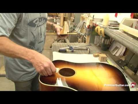 Fender Acoustic Custom Shop Tour