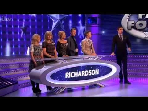 Kieron Richardson on Family Fortunes 1/3