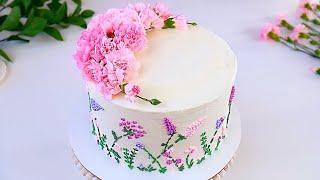 Самый нежный торт на 8 марта Маме Творожный Наполеон Сметанно заварной кремом с малиновой прослойкой