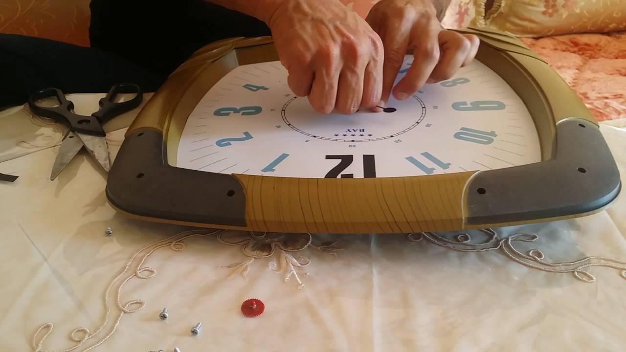 Réparer horloge ou pendule