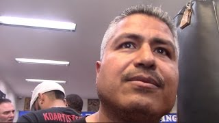 ROBERT GARCIA - 'WE WANT MANNY PACQUIAO FOR MIKEY GARCIA. LINARES OR FLANAGAN ARE NOT AS BIG'