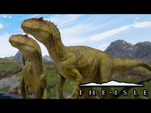 Allosaurs Vs Everything! - The Isle