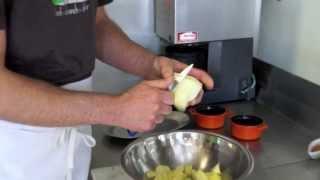 The Delightful Petit Pois Restaurant Apple Crisp