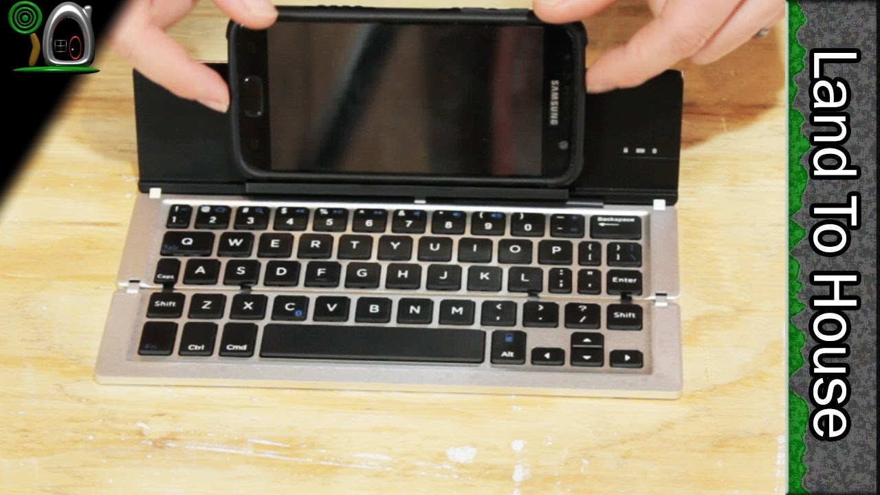 Fkant Bluetooth Keyboard For Cell Phone And Tablet Youtube