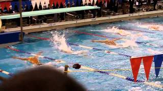 2011 Pac 10 Championships 100 Fly A Final