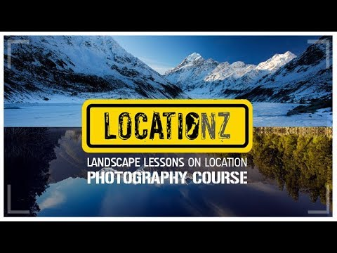 Landscape photography lessons on location | Photoshop Tutorial