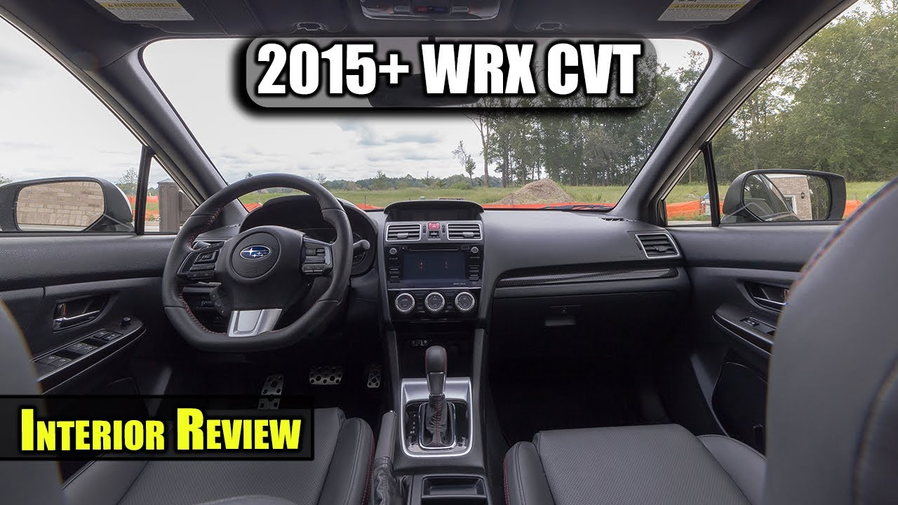 2017 Wrx Cvt Limited Interior Review
