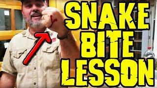 Snake lesson!