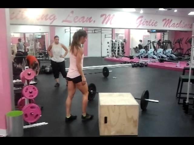 Box Jump & BF Burpee Tutorial: Andrea Ager