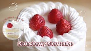 Video & Recipe 008 - Strawberry Shortcake(FULL THAI RECIPE https://www.facebook.com/media/set/?s... FULL ENGLISH RECIPE BELOW Strawberry Short Cake Equipments 1 pound round cake tin ..., 2013-09-17T16:12:46.000Z)